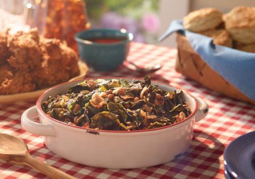 Kickin' Collard Greens recipe