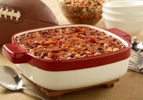 Spicy BBQ Baked Beans recipe