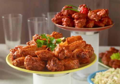 Sweet & Spicy Wings recipe
