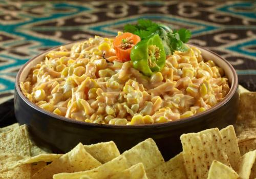 Easy Jalapeño Corn Dip recipe