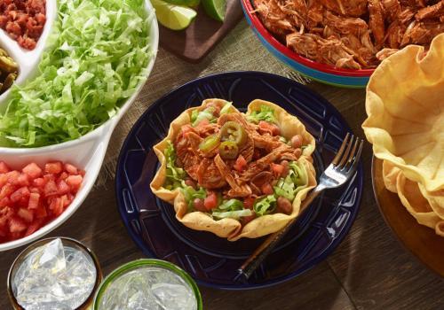 Spicy Chicken Taco Salad recipe
