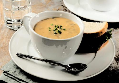 Spicy Fire Roasted Cheddar Broccoli Soup recipe
