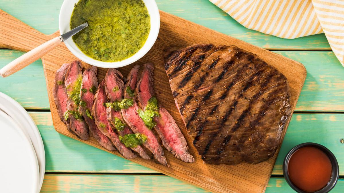 BBQ Grilled Flank Steak
