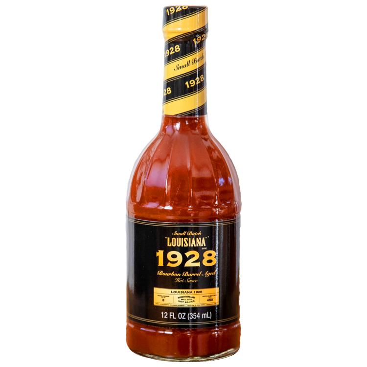 Small Batch Louisiana 1928 Bourbon Barrel Aged Hot Sauce